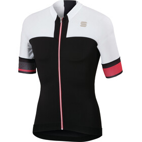Sportful Strike Bike Jersey Shortsleeve Men white/black